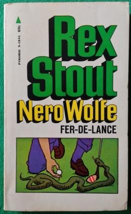 Fer-de-Lance - Rex Stout; Pyramid, 1968