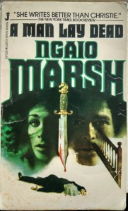 A Man Lay Dead - Ngaio Marsh; Jove 1980
