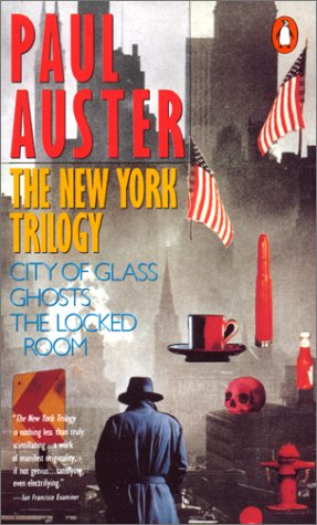 The New York Trilogy - Paul Auster; Penguin, 1990